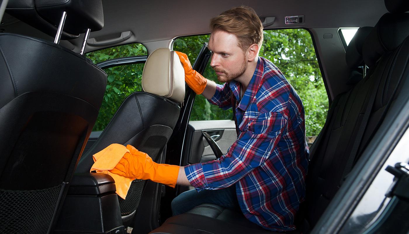 車内清掃ビフォーアフター